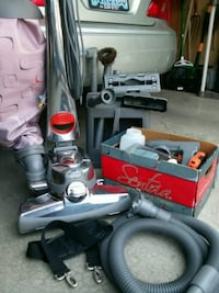 Kirby upright vacuum and carpet shampooing system Spokane, 99205