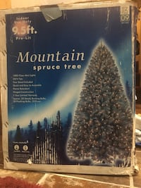 Mountain Christmas tree 9.5 feet 37 km