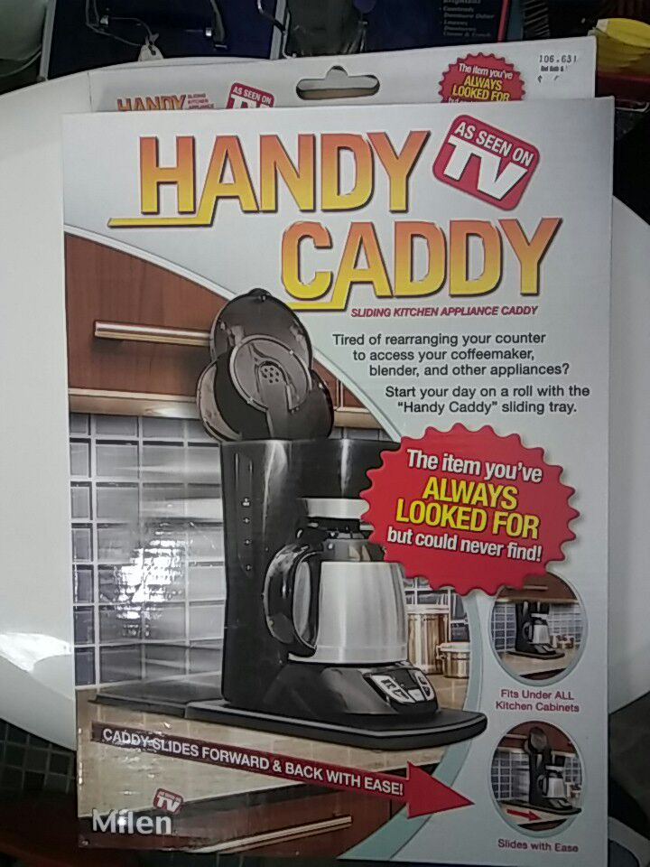 Used Handy Caddy Sliding Kitchen Appliance Caddy Box In Niles. E. Ellen  KrugerHandy Caddy Sliding Kitchen Appliance Caddy Box