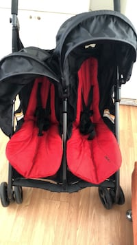 red and black travel system Hialeah, 33012