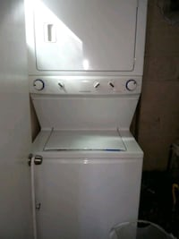 Double stock washer & dryer  Bridgeport