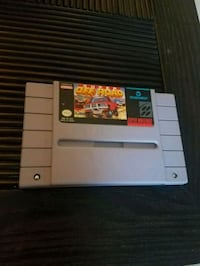 SNES Super Nintendo Super Off Road video game