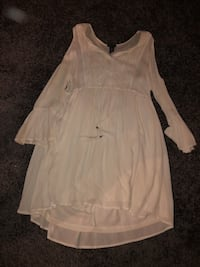 Rue21 White Summer Boho Dress 68 km