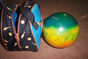 Kids Bowling Ball with case