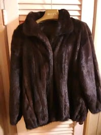 Authentic Brown Mink JACKET-XL $275 OBO Pikesville, 21208