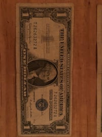 Silver certificates 1934 A Bowie, 20720