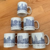 Starbucks City Mugs Collection Toronto, M6J 3G4