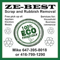 Recycling Scrap and Junk Recycling -100%  Eco Friendly Mississauga