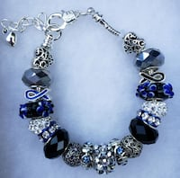 Police officer or memorial charm bracelet Baltimore, 21224