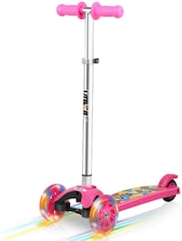 Vokul 3 Wheel Mini Kick Scooter for Kids