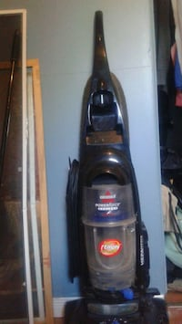 black and gray Bissell upright vacuum cleaner Kitchener, N2K 1E9