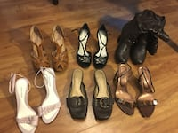 7 pairs of shoes all for $45 size 7.5-8 Winnipeg, R3G 1N5