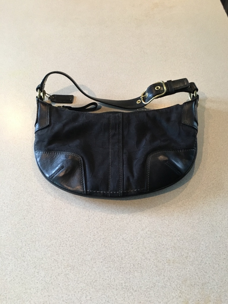 "Photo Black Coach"" Purse."