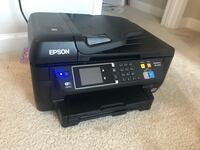 black Epson multi-function printer