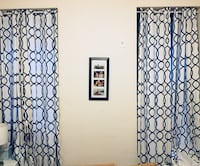 Curtains from Bed Bath and Beyond - and curtain rods! 2 sets New York, 10019