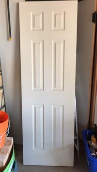 white wooden 6-panel door Vaughan, L4L 2E4