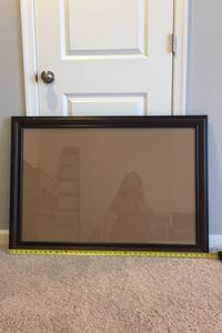 "40""x28"" Brown frame with glass Ashburn, 20148"
