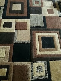 black, brown, and gray area rug Bristow