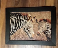 Zebra painting - top condition Longueuil, J3Y 9A2