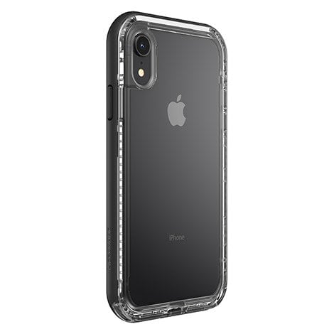 LifeProof NEXT Fitted Hard Shell for iPhone XR - Black Crystal