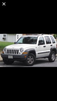 White 2006 jeep liberty Germantown, 20874