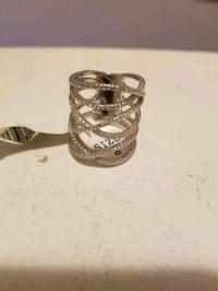 Sterling Silver Size 8 ring Kitchener