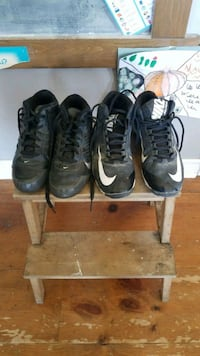 Nike Shark Football cleats size 4 and 5 $25 Each Stayner, L0M 1S0