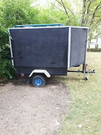 black and gray utility trailer Steinbach, R5G 0G7
