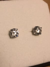 5mm round cz 925 silver stud earrings Mississauga, L4X 2N2