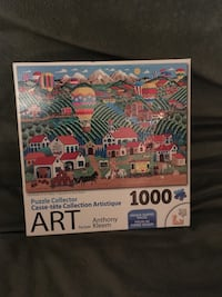 Jigsaw puzzle: 'Art By Anthony Kleem (1000 pieces)  Victoria, V8R 4B7