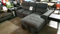 Fabric sectional with trundle bed Mississauga, L4X