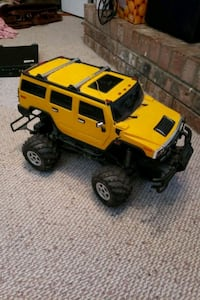 Hummer electric rc car