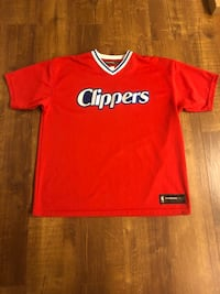 Reebok HARDWOOD CLASSIC vintage NBA Los Angeles Clippers jersey shirt!! Sz L Richmond, V7A 2Z5