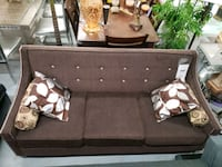 Canadian made fabric sofa on sale in stock we deli Toronto, M9W 1P6