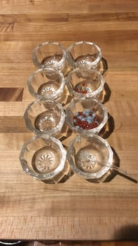 Oyster servers from Charleston SC circa 1890s cast glass Frederick, 21701