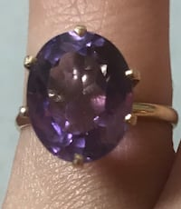 purple ring size 7