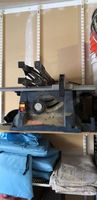 """Ruobi 10"""" table saw and stand Centennial, 80112"""