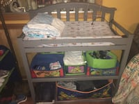 changing table and pad