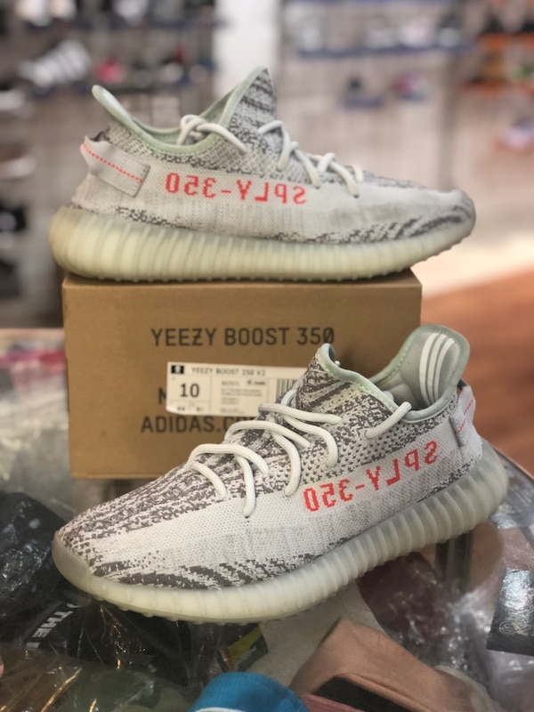 b779d4851 Used Blue tint Yeezy 350 V2s size 10 for sale in Silver Spring - letgo