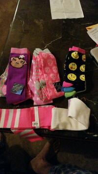 10 pairs of Girls Socks  Vancouver, V5W 3C4