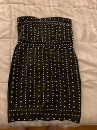Strapless black dress fitted sexy Toronto, M9N 2R3