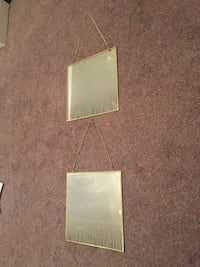 2 gold framed mirrors  Provo, 84601