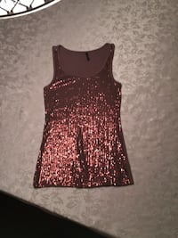 Maurices Sequin Top Cooper Brown Blaine, 55449