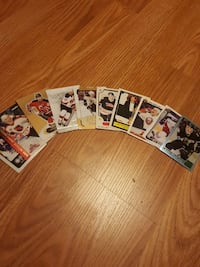 ice hockey player trading card lot Bedford, B4A 1M1
