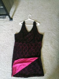 women's black and red sleeveless dress Oxon Hill, 20745
