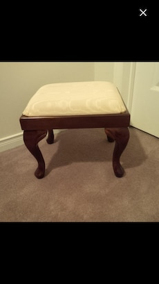 Bombay foot stool excellent condition never used just sat in a room. Comes from a smoke free home