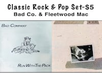 Classic Rock & Pop Lp Set - Bad Co. & Fleetwood Mac Bethesda, MD, USA