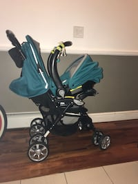 baby's black and blue travel system New York, 10456