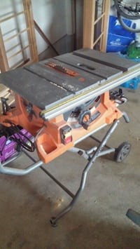 red and gray table saw Burlington, L7R 3N7
