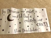 Harry Potter quote decal Springfield, 22153